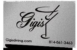 Gigi's Gift Card